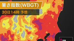 関東6県と山梨県に、熱中症警戒アラート。猛暑継続で夜も気温下がらず
