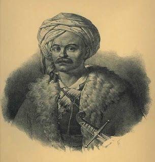 Πορτραίτο του Φαβιέρου που εικονογράφησε ο Γερμανός φιλέλληνας Karl Krazeisen, Συλλογή ΕΕΦ