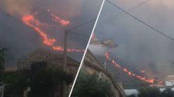Incendio nel Trapanese, fiamme a San Vito Lo Capo e vicino alla Riserva dello Zingaro