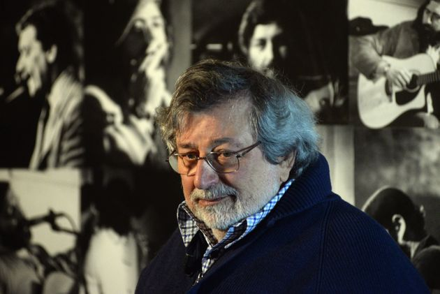BOLOGNA, ITALY - OCTOBER 27: Italian musician and author Francesco Guccini unveils his latest record...