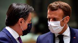 Conte e Macron studiano un'intesa per fare tamponi alla frontiera. Il virus corre Oltralpe (da Parigi, D.