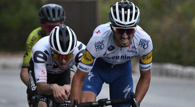 Julian Alaphilippe (Deceuninck-Quick Step) a remporté la deuxième étape du Tour...