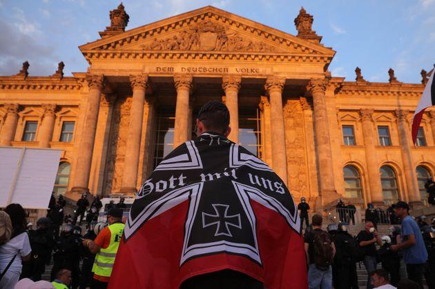 Así trataron 200 nazis de asaltar el Reichstag, la sede del Parlamento