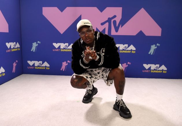 UNSPECIFIED - AUGUST 2020: DaBaby attends the 2020 MTV Video Music Awards, broadcast on Sunday, August...