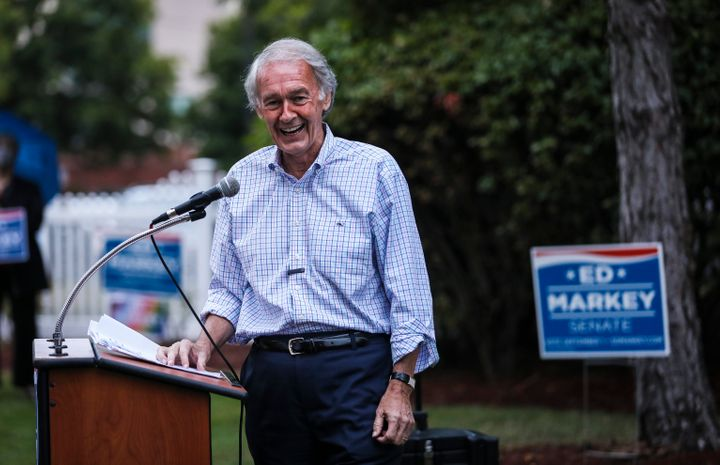 Sen. Ed Markey has transformed himself into an icon for progressive youth in his mission to fend off a challenge from Rep. Jo