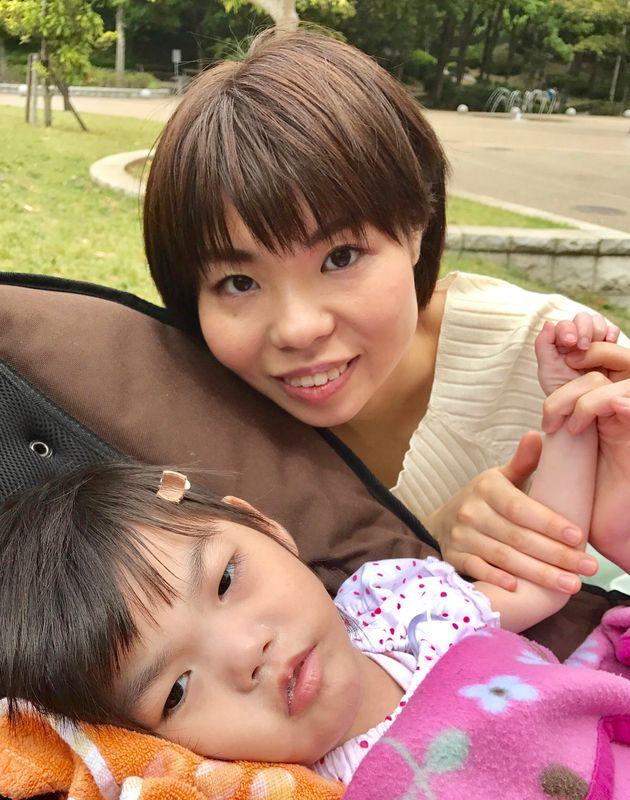 自宅療養になった菜生さんと裕香さん
