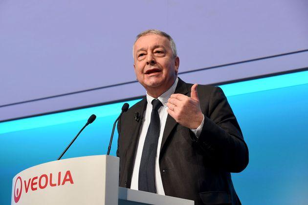 Antoine Frérot, PDG de Veolia, ambitionne de réunir les numéros un et deux mondiaux...