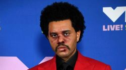 The Weeknd Looks Like He Got Beat Up At Video Music