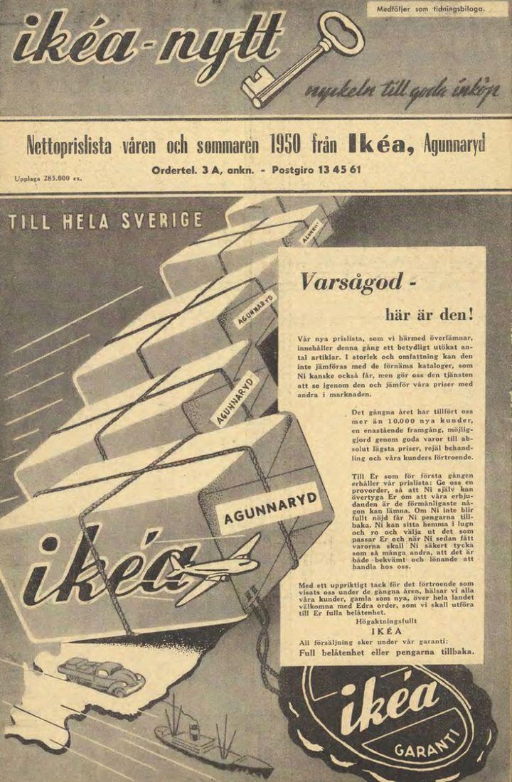 Primer catálogo Ikea