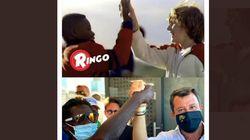 Salvini usa lo spot dei Ringo, i social insorgono. Barilla:
