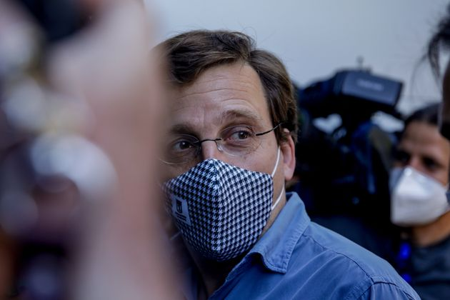 José Luis Martínez-Almeida, portavoz nacional del PP, el pasado 26 de