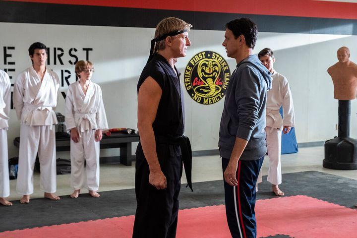 "A scene from ""Cobra Kai"" on Netflix."