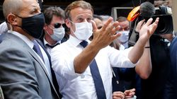 Mettre la pression sans ingérence, le défi d'équilibriste de Macron au