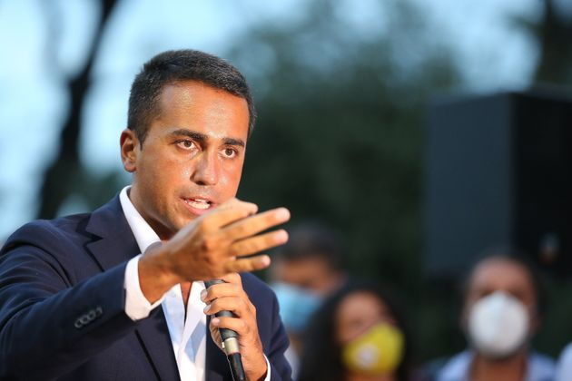 SAN NICOLA LA STRADA, ITALY - 2020/08/30: The Foreign Minister and politician of the 5 Star Movement,...