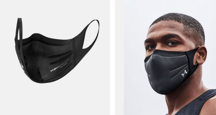 """The Under Armour <a href=""""https://www.underarmour.com/en-us/p/ua-sportsmask/1368010.html"""" target=""""_blank"""" rel=""""noopener noreferrer"""">Sportsmask</a> sold out within an hour of its launch in early June."""