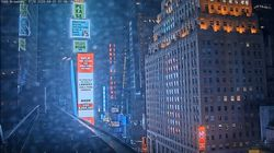 뉴욕 타임스스퀘어에 손정우 처벌을 촉구하는 대형 광고가 게재됐다