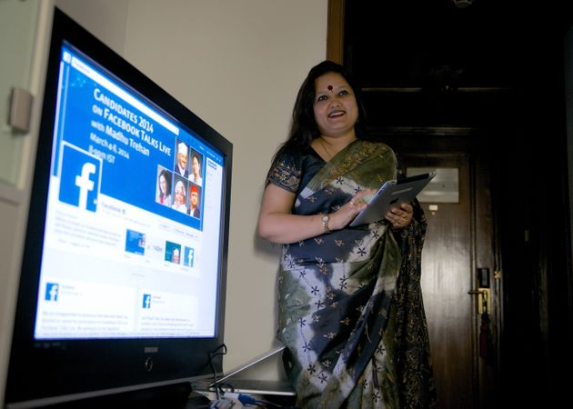 A file photo of Ankhi Das, Public Policy Director, Facebook India and South & Central