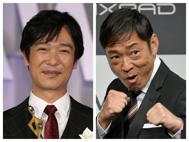 堺雅人さん(左)と香川照之さん(右)。ドラマでは天敵同士の2人だが…