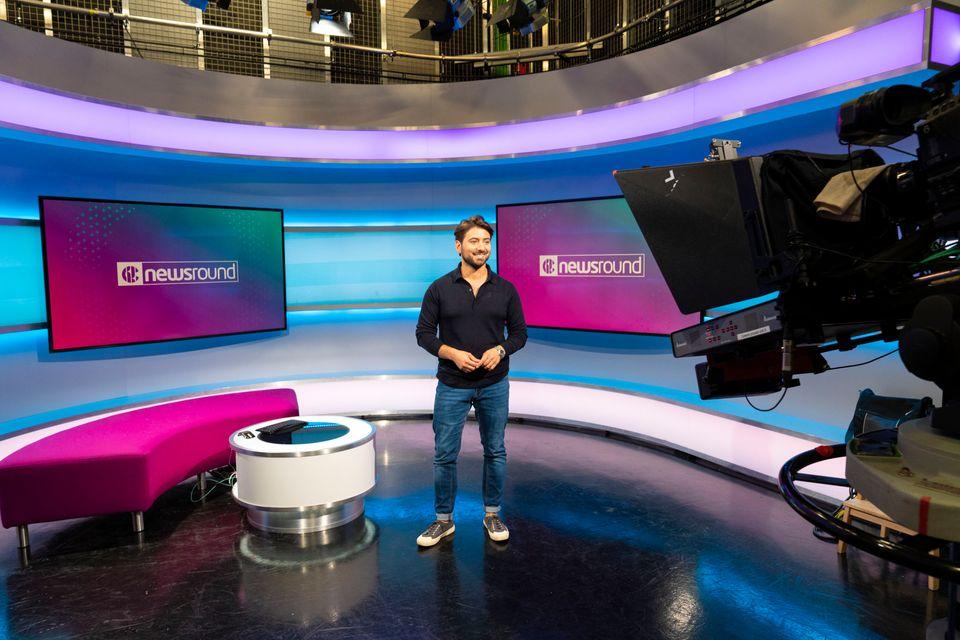 BBC Newsround's Ricky Boleto: a presenter since 2008, he has witnessed the programme