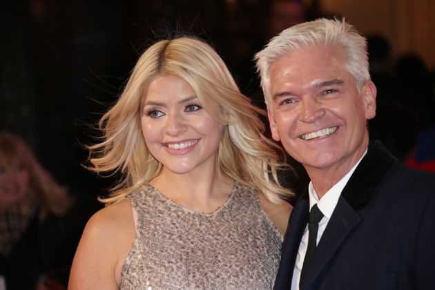 Holly Willoughby And Phillip Schofield Share A Socially Distanced Hug As They Return To This