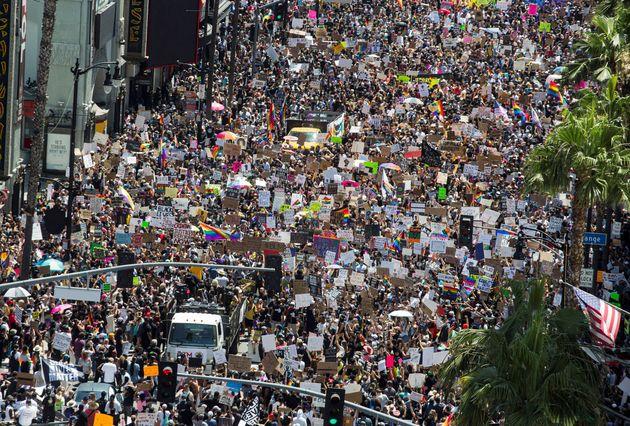 Protestas en junio en