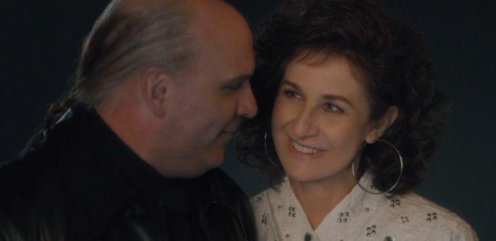 Sylvain Marcel et Valérie Lemercie dans «Aline»