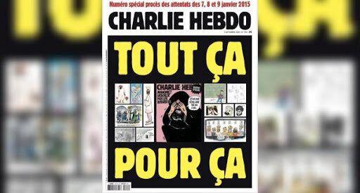Portada del semanario 'Charlie Hebdo' de este