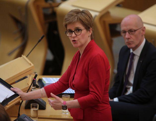 Nicola Sturgeon Announces Second Scottish Independence Referendum Draft