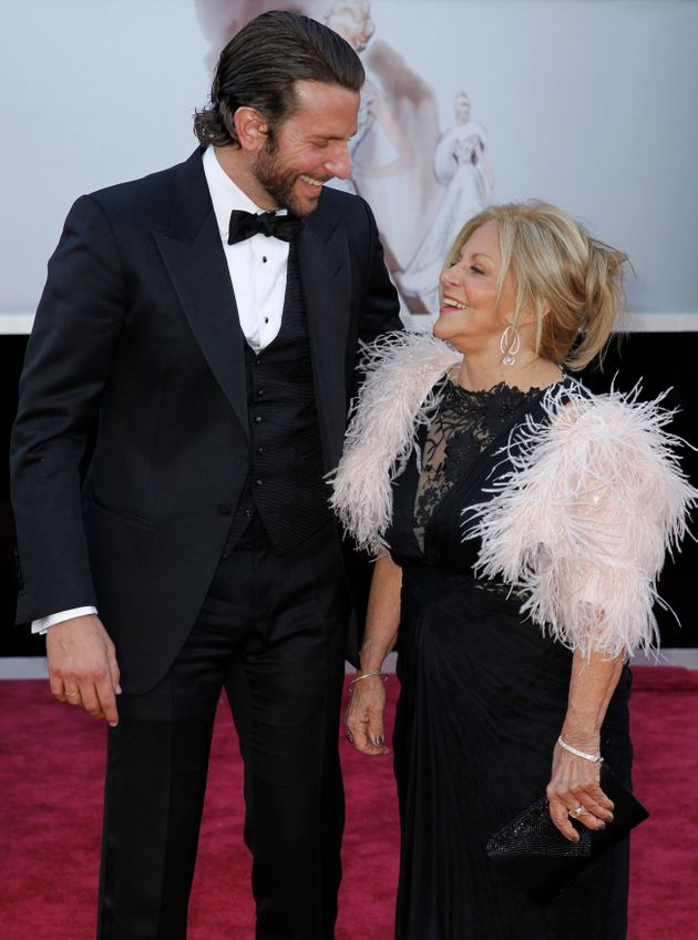 Bradley Cooper and his mother Gloria also made the scene at the 2013