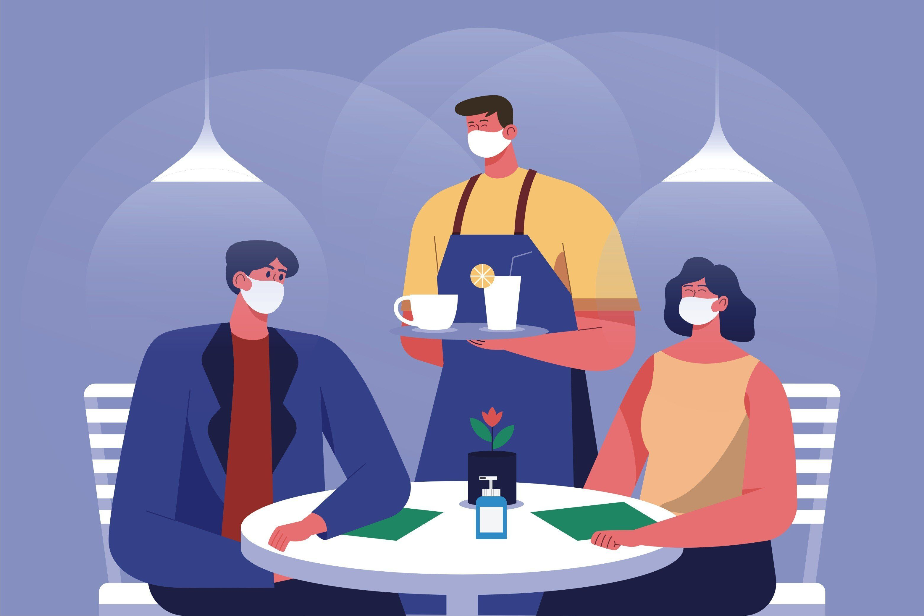 Do S And Don Ts Of Wearing A Face Mask At Restaurants During Covid 19 Huffpost Life