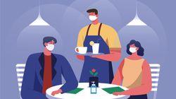 Uso de máscara em restaurantes durante a pandemia: O que fazer e o que não