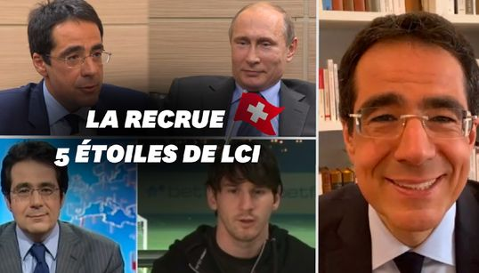 Darius Rochebin, la recrue vedette de LCI qui a interviewé les plus