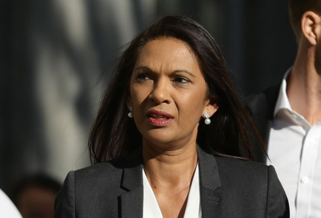 Gina Miller said she felt a 'chill down my spine' when she saw the GoFundMe