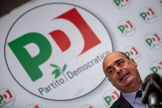 13/02/2020 Roma, Conferenza stampa di presentazione sul Piano per l'Italia del Partito Democratico nella...
