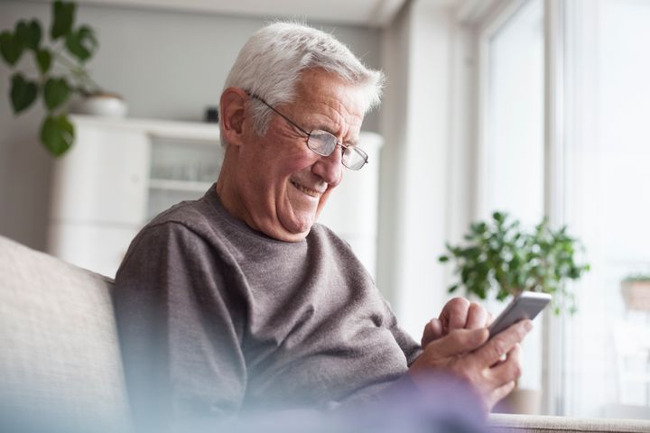 If you can't meet in person, call or FaceTime with your grandfather.