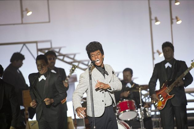 Boseman as James Brown in
