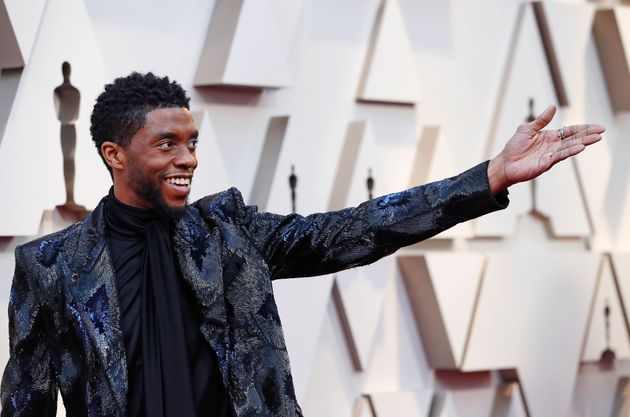 Boseman at the 2019 Oscars