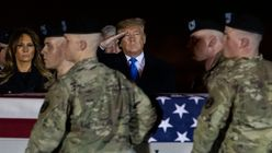 Trump Stopped Going to Dover AFB To Receive Bodies After Getting Berated On First