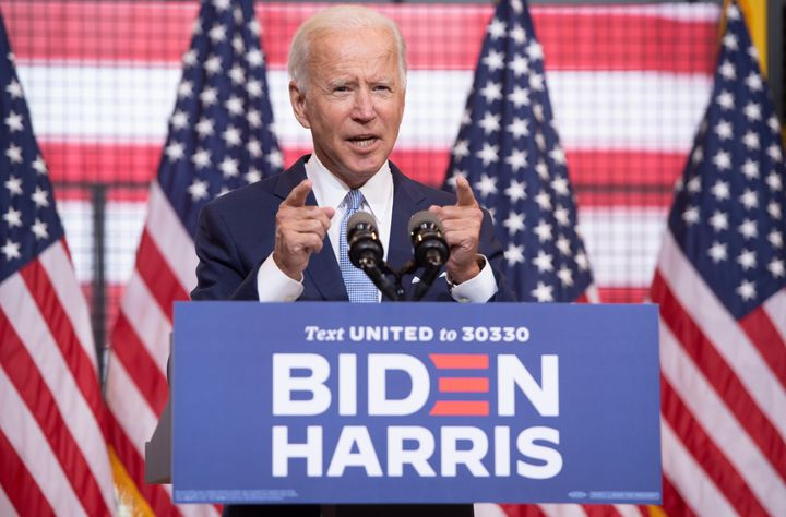 Democratic presidential nominee Joe Biden traveled to Pittsburgh on Monday to deliver a speech on how President Donald Trump