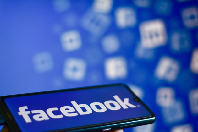 INDIA - 2020/08/29: In this photo illustration a Facebook Logo seen displayed on a smartphone. (Photo...