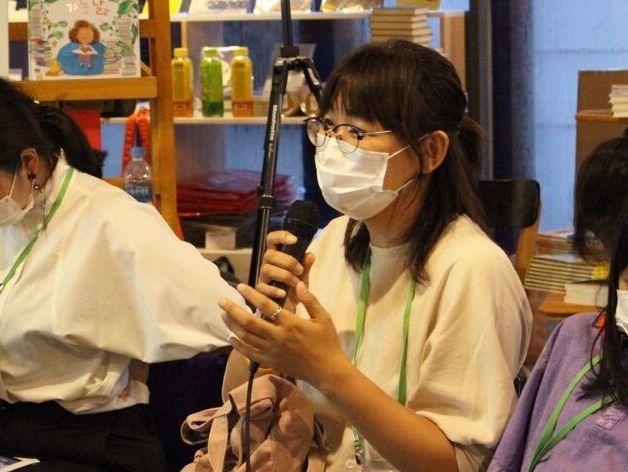노란돼지 김성은 편집장이 '나다움 어린이책' 토론회에 양육자로 참여한
