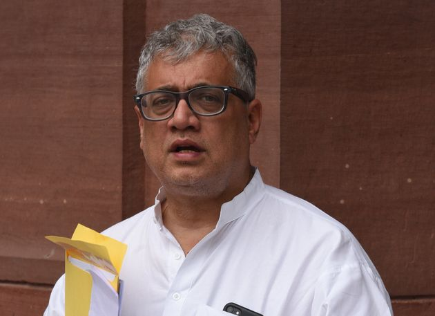 Trinamool Congress (TMC) leader Derek O'Brien' seen during the Budget session, at Parliament on July...