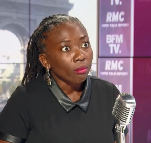 Danièle Obono, députée insoumise de Paris, le 2 septembre sur