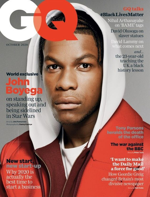 John Boyega on the cover of