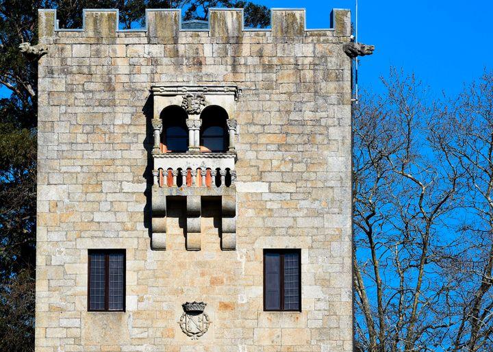 La Torre de la Quimera, la más alta del Pazo de Meirás.