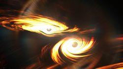 Cette collision de trous noirs est le chaînon manquant attendu par les