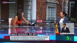 El detalle más comentado en el 'look' de Pablo Iglesias en 'Al Rojo Vivo': no es el
