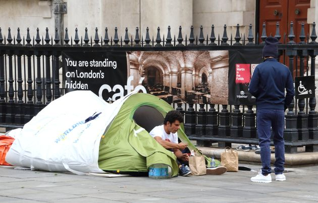 Use Empty Office Blocks To Solve Winter Homeless Shelter Crisis, Say