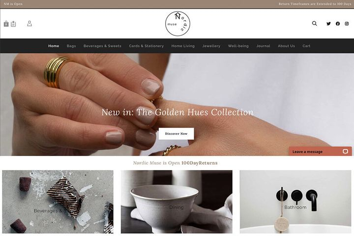 Nordic Muse, a lifestyle store based in Manchester