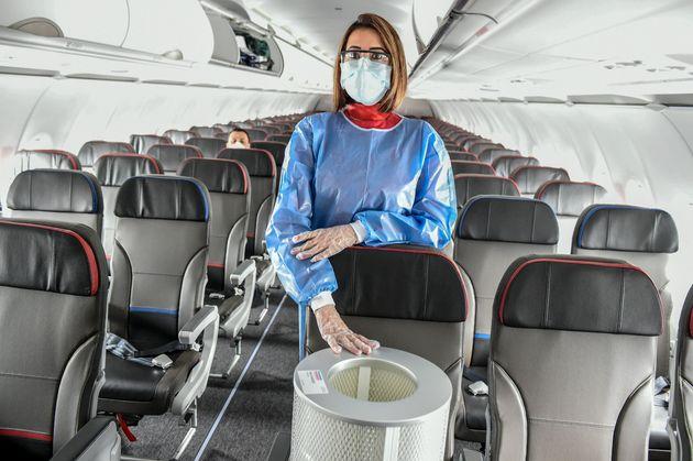 Les recherches pour lutter contre la pandémie de Covid-19 dans les avions